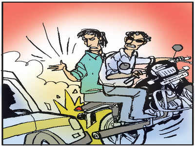Beware the bikers: After accident with bike in Hanumantha Nagar, driver asked to come to hospital, attacked for over an hour