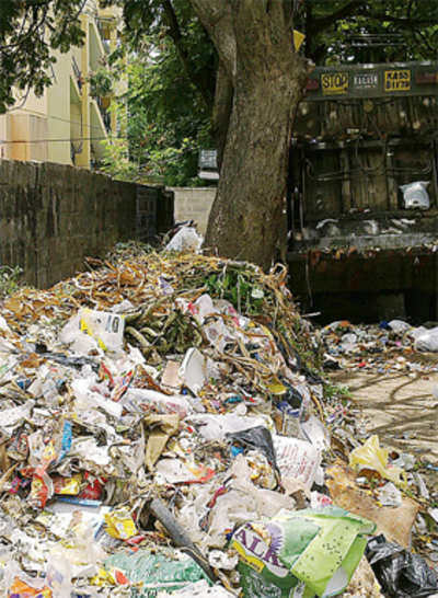 Now, garbage dumping right in our backyards