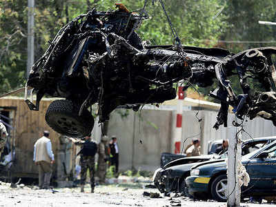 12 killed, 42 injured in Kabul suicide bombing