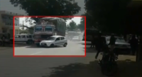 On Cam: Truck drags car for 3 kms in Rajasthan