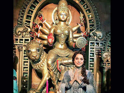 Juhi Chawla supports eco-friendly celebrations