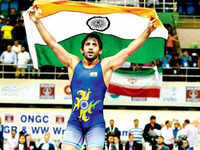 Want to fulfill a million dreams by winning an Olympic gold: Bajrang Punia