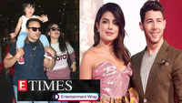 Nick Jonas says 'I love you' to Priyanka Chopra in sign language during his concert; Taimur waves to paparazzi as he returns from London and more