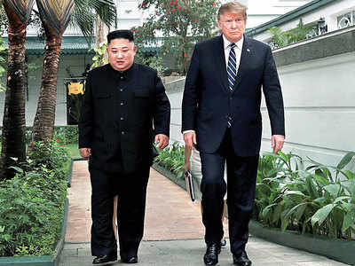 Trump 'walks', N Korea talks end without deal