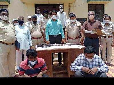 Two held for killing chinkara in Indapur