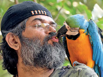 Shankar Iyer helps animals, birds to act on the silver screen