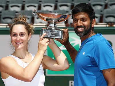 French Open: Rohan Bopanna-Gabriela Dabrowski win mixed-doubles title