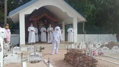 Historic! Bodies of catholic COVID-19 victims in Kerala's Alappuzha cremated in church cemeteries