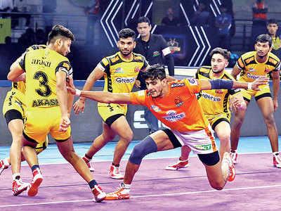 Puneri Paltan pip Telugu Titans 53-30 in PKL