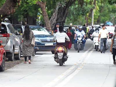 Marauding bikers instil terror in senior citizens