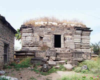 Restoring shrine, stone by stone