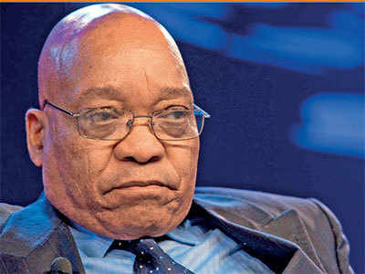 SA's ruling ANC asks Zuma to step down