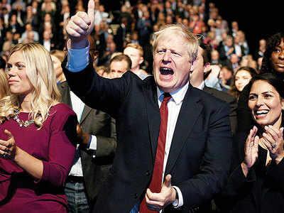 British journalist claims PM Johnson groped her