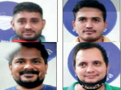 Four Income-Tax staffers caught having daru party