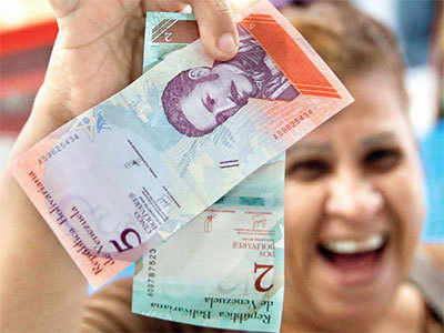 Venezuela devalues 95% of its currency