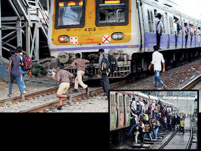 Steady decline in trespassing and falling deaths: Rly report