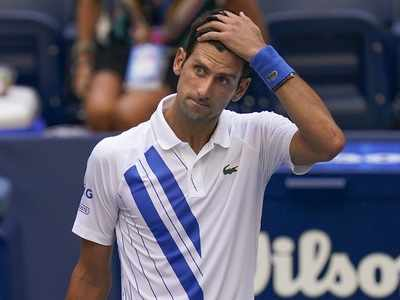Novak Djokovic issues apology after being disqualified from US Open for hitting line judge with ball