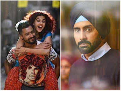 Manmarziyaan movie review: Abhishek Bachchan, Taapsee Pannu and Vicky Kaushal's film marks the evolution of love triangles in Bollywood