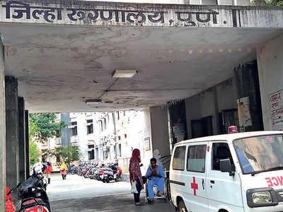 Aundh Civil Hospital turns into biomedical garbage dump