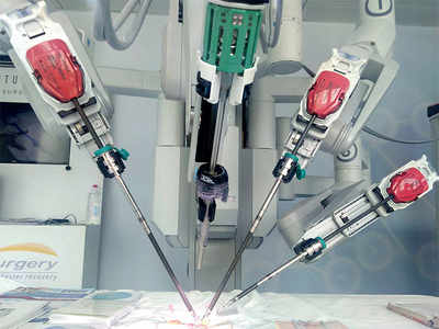 Robotic surgery gives city senior a new lease of life