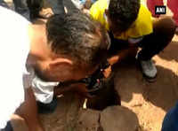 Jodhpur: 2-year-old girl falls into borewell, rescue operation underway