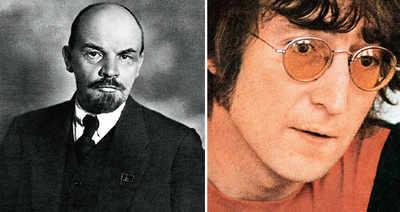 Lennon replaces Lenin in Ukraine
