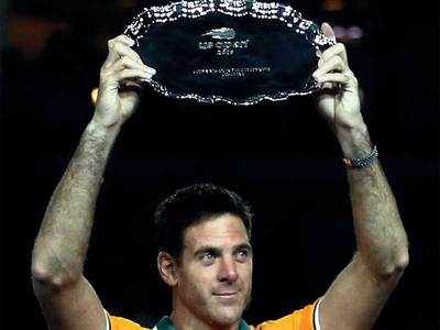 In US Open fall, del Potro shows he is back