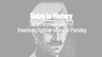 Remembering freedom fighter Mangal Pandey on his 192nd birth anniversary