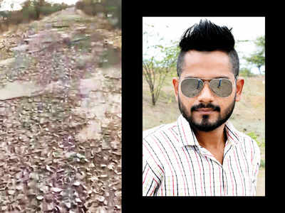 NCP files plaint for viral bad road video