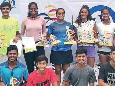 Gujarat boys shine in AITA NS tourney