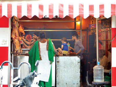 Illegal meat, shops face Palike cleaver