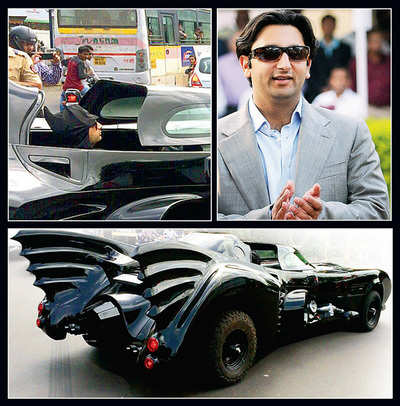 City goes batty over supercar