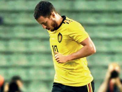 FIFA World Cup: Chelsea star Eden Hazard hurt in Belgium