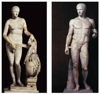 What you see when you see: Influence and politics of the Greek body
