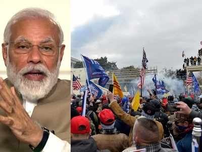 PM Modi on US Capitol Violence: Democratic process cannot be allowed to be subverted; world leaders condemn 'assault on democracy'
