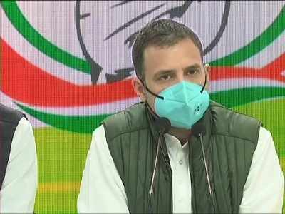 Tragedy unfolding in India, farm laws designed to destroy agriculture sector: Rahul Gandhi hits out at government