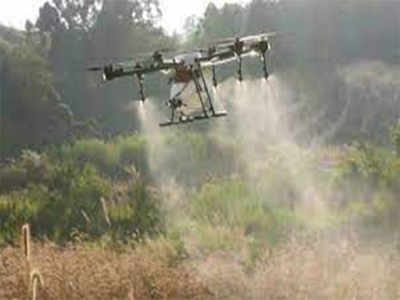 Drones for sanitisation? Experts give a thumbs down