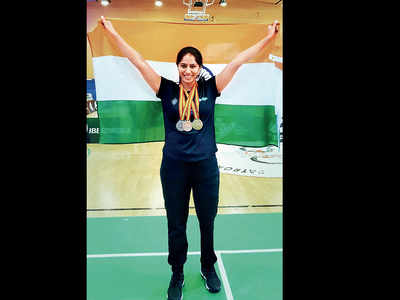 Worked every bit for it, says Para-badminton gold medallist Manasi Joshi