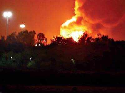 Watch: Massive blast at ONGC Hazira; no casualties reported