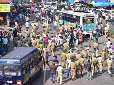 Karnataka: 2 civilians dead as anti-CAA protest turns violent in Mangaluru; police resort to firing; curfew imposed