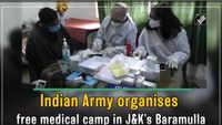 Jammu and Kashmir: Indian Army organises free medical camp in Baramulla
