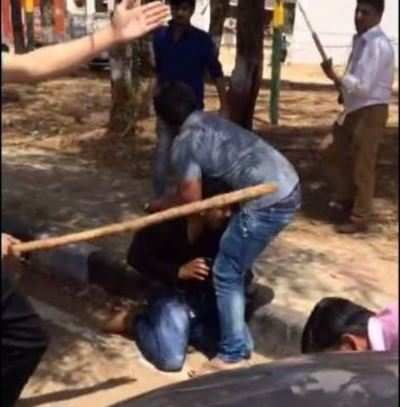 Gandhinagar: In-laws mercilessly thrash man for domestic violence against wife