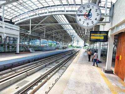 Finally, Pune Metro's first station is finished