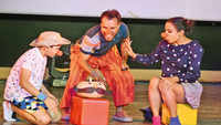 Gurgaon kids perform to a full house despite Saturday's storm