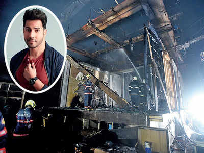 Fire on the sets of Varun Dhawan and Sara Ali Khan's Coolie No 1