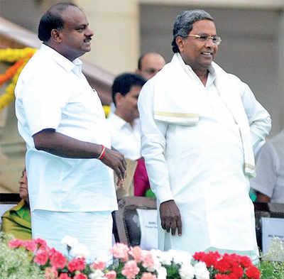 HD Kumaraswamy's seer-ing message
