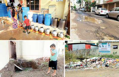 Locals from merged villages in PMC limits call out civic apathy