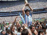 Diego Maradona: A magician footballer