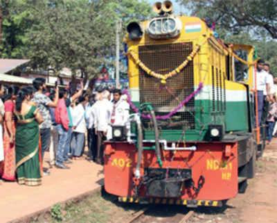 Iconic toy train chugs along Matheran hills