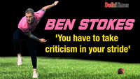 Ben Stokes: You have to take criticism in your stride